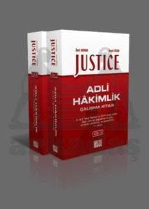 Justice Adli Hakimlik Çalışma Kitabı - 2 Cilt Takım
