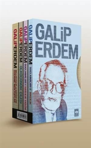 Galip Erdem Seti (4 Kitap Set)