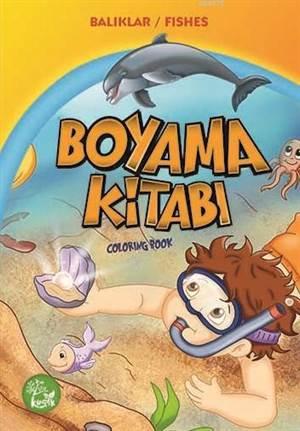 Boyama Kitabı - Balıklar/Fishes