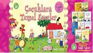 Çocuklara Temel Eserler - 10 Kitap