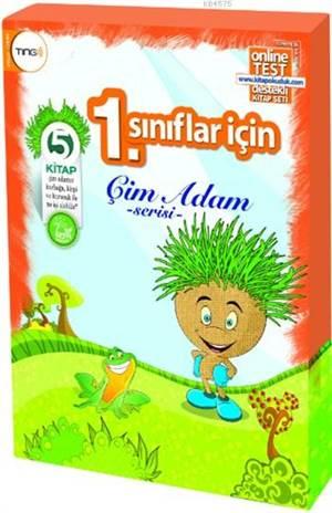 Çim Adam Serisi Seti (5 Kitap - Tingli); 1. Sınıflar İçin