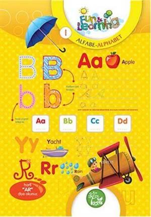 İngilizce Öğreniyorum 1 - Alfabe Etkinlikleri (7-10 Yaş); Fun And Learning English