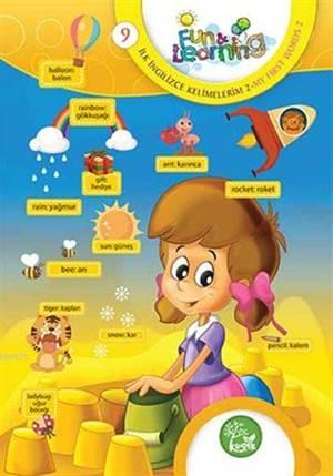 İngilizce Öğreniyorum 9 - İlk İngilizce Kelimelerim 2 (7-10 Yaş); Fun And Learning English