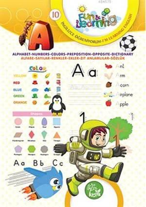 İngilizce Öğreniyorum 10 (7-10 Yaş); Fun And Learning English