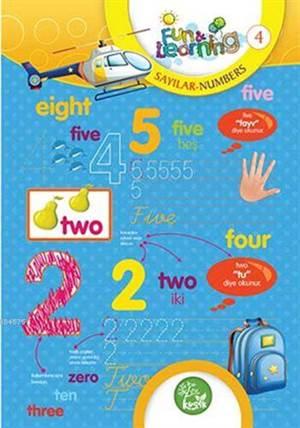 İngilizce Öğreniyorum 4 - Sayılar (7-10 Yaş); Fun And Learning English