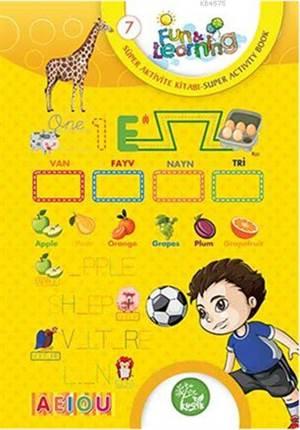 İngilizce Öğreniyorum 7 - Süper Aktivite Kitabı (7-10 Yaş); Fun And Learning English