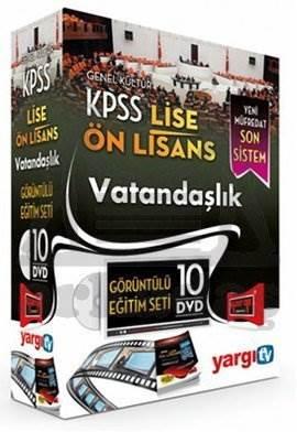2014 KPSS Lise - Önlisans Vatandaşlık Görüntülü Eğitim Seti (10 DVD)