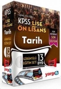 Yargı 2014 KPSS Lise Önlisans Tarih HD Görüntülü Eğitim Seti 13 DVD