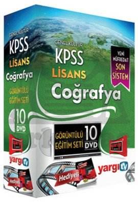 Yargı 2014 KPSS Lisans Coğrafya Görüntülü Eğitim Seti 10 DVD