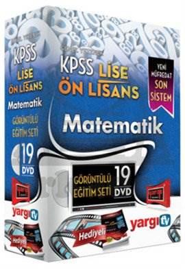 Yargı 2014 KPSS Lise Önlisans Matematik Görüntülü Eğitim Seti 19 DVD