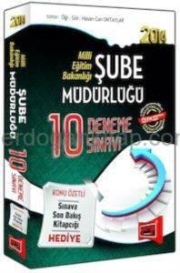 MEB 2014 Şube Müdürlüğü 10 Deneme Sınavı
