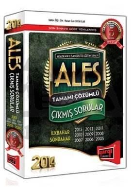 2014 ALES Tamamı Çözümlü Çıkmış Sorular + Çözüm Kitabı (Büyük Boy)