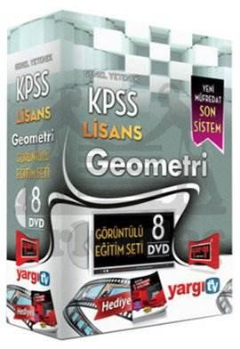 Yargı 2014 KPSS Lisans Geometri Görüntülü Eğitim Seti 8 DVD