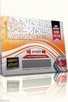 Yargı KPSS GY Matematik Görüntülü Eğitim Seti 2014