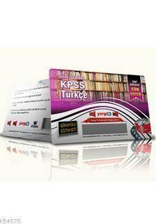 Yargı KPSS GY Türkçe Görüntülü Eğitim Seti 2014