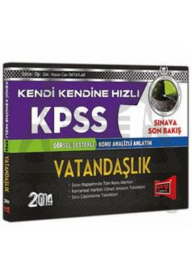 Yargı KPSS Görsel Destekli Konu Analizli Anlatım Vatandaşlık 2014