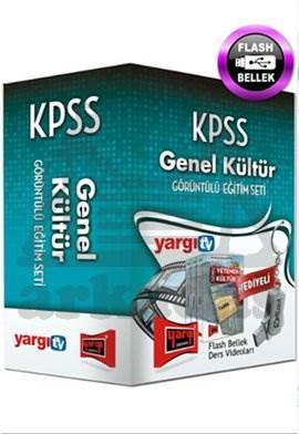 Yargı KPSS Genel Kültür Görüntülü Eğitim Seti 2014 - Flaş Bellek