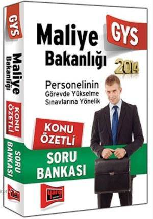 GYS Maliye Bakanlığı Konu Özetli Soru Bankası 2014
