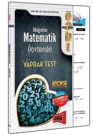 Yargı 2015 ÖABT İlköğretim Matematik Öğretmenliği Yaprak Test
