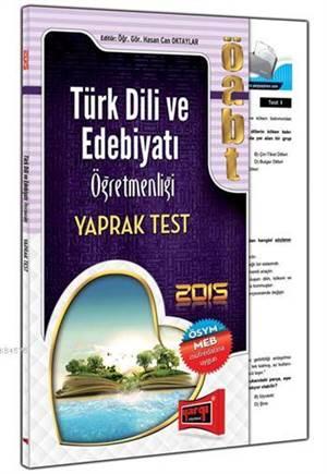 Yargı 2015 ÖABT Türk Dili ve Edebiyat Öğretmenliği Yaprak Test