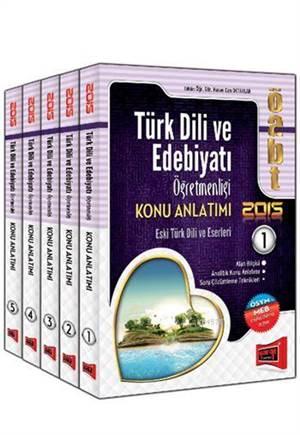 Yargı 2015 ÖABT Türk Dili ve Edebiyatı Öğretmenliği Konu Anlatımlı Modüler Set - 5 Kitap Takım
