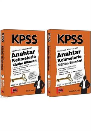 Yargı 2015 KPSS Anahtar Kelimelerle Eğitim Bilimleri - 2 Kitap Takım