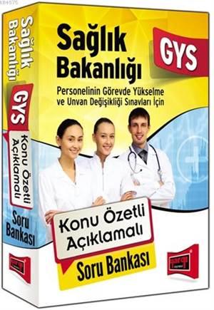 GYS Sağlık Bakanlığı Konu Özetli Açıklamalı Soru Bankası 2015
