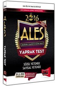 Yargı Ales Y.Test.(2016)