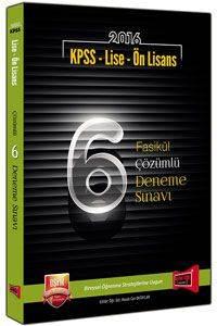 Yargı Kpss Lise-Önl.6 Fas.Çöz.Den.(2016)