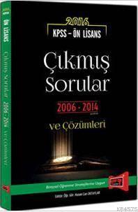 2016 Yargı KPSS Ön Lisans 2006-2014 Çıkmış Sorular ve Çözümleri