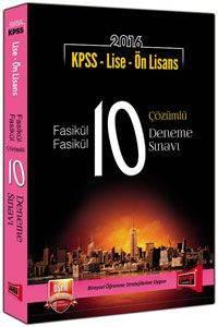 Yargı Kpss Lise-Önl.10 Çöz.Den.(2016)