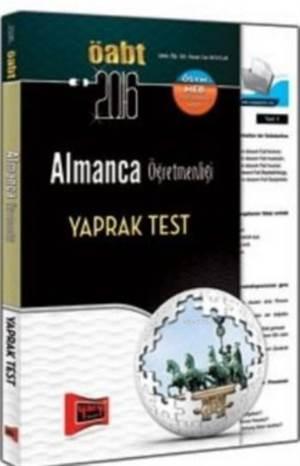 ÖABT KPSS Almanca Öğretmenliği Yaprak Test 2016