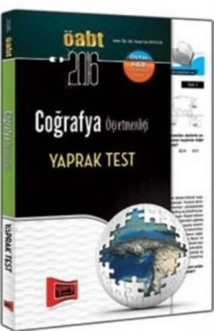 ÖABT KPSS Coğrafya Öğretmenliği Yaprak Test 2016