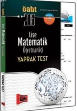 ÖABT Lise Matematik Öğretmenliği Yaprak Test 2016