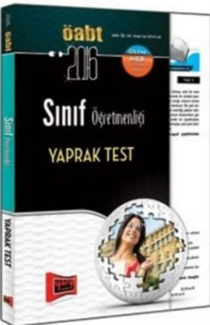 ÖABT KPSS Sınıf Öğretmenliği Yaprak Test 2016