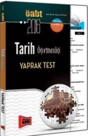 ÖABT KPSS Tarih Öğretmenliği Yaprak Test 2016