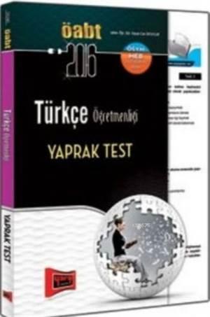 KPSS Türkçe Öğretmenliği Yaprak Test 2016