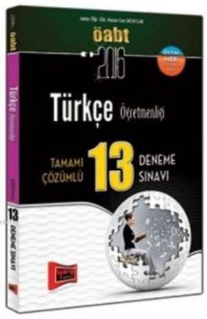 Öabt Kpss Türkçe Öğretmenliği; Tamamı Çözümlü 13 Deneme Sınavı 2016