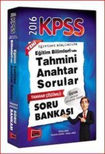 Yargı Kpss Eğitim Bilimllerinde Tahmini Anahtar Sorular Tamamı Çözümlü Soru Bankası