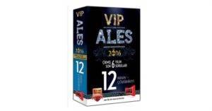 2016 ALES VIP Son 6 Yılın Çıkmış 12 Sınav Soruları ve Çözümleri