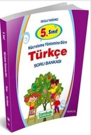5. Sınıf Türkçe Soru Bankası Hücreleme Yöntemine Göre
