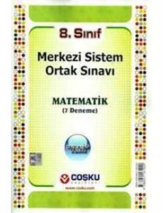 8.Sınıf Merkezi Sistem Ortak Sınavı Matematik