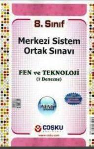 8.Sınıf Merkezi Sistem Ortak Sınavı Fen Ve Teknoloji