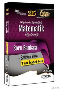 KPSS ÖABT Matematik Öğretmenliği Çözümlü Soru Bankası
