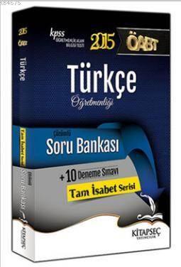 KPSS ÖABT Türkçe Öğretmenliği Çözümlü Soru Bankası 2015