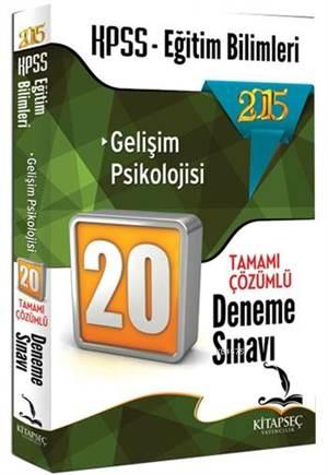 KPSS Eğitim Bilimleri Gelişim Psikolojisi Tamamı Çözümlü 20 Deneme Sınavı 2015