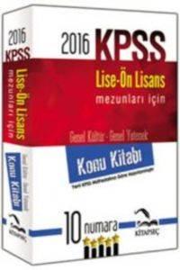 Kitapseç Kpss Lise-Önl.Konu Kitabi(2016)