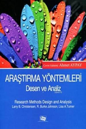 Araştırma Yöntemleri Desen Ve Analiz