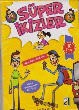 Süper İkizler (10 Kitap Takım)