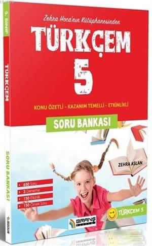 5. Sınıf Türkçem Soru Bankası Konu Özetli; Konu Özetli - Kazanım Temelli - Etkinlikli